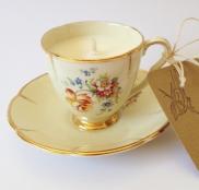 Bristille Vintage Teacup Candle