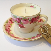 Vintage Royal Doulton Teacup Candle