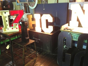 Awesome typographic lights.