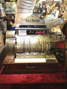 Wonderful vintage cash register.
